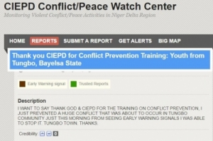 Impact Stories From CIEPD Conflict/ Peace Watch Centre